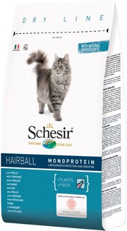 Schesir Adult Hairball with Chicken фото